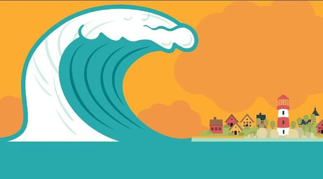 Hati-Hati, Gempa Dan Tsunami Intai 12 Desa Di Tabanan Bali