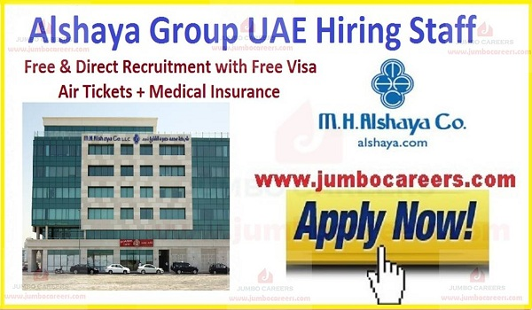 Alshaya Group UAE Middle East Careers Job Openings 2021