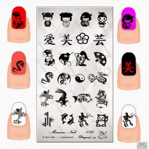Lacquer Lockdown - Marianne Nails Nail Art Stamping Plates, Marianne nail art plates, marinane stamping plates, nail art, nail art stamping blog, new nail art stamping plates 2014, new nail art image plates 2014, new nail art plates 2014, stamping, new nail plates 2014, diy nail art, cute nail art ideas, new nail art ideas, japanese nail art