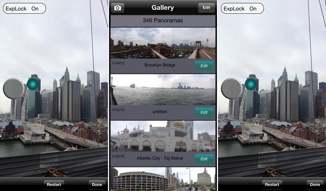 أفضل تطبيق الكاميرا البانورامية للايفون