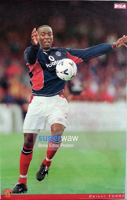 Poster Dwight Yorke (Manchester United)