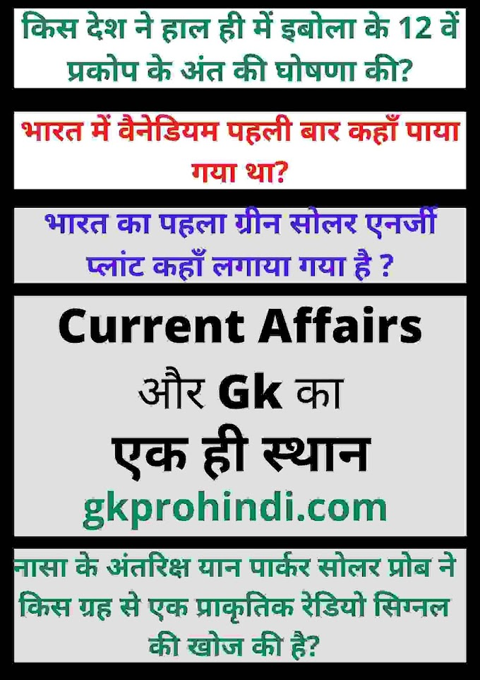 Current Affairs May 2021 in hindi