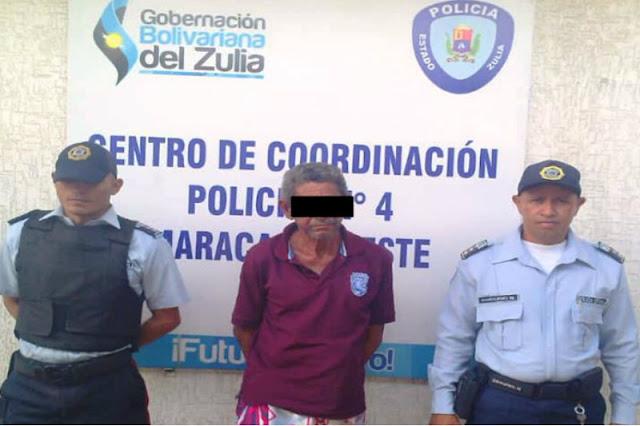 Viejo sádico detenido por abusar de un niño con restraso mental