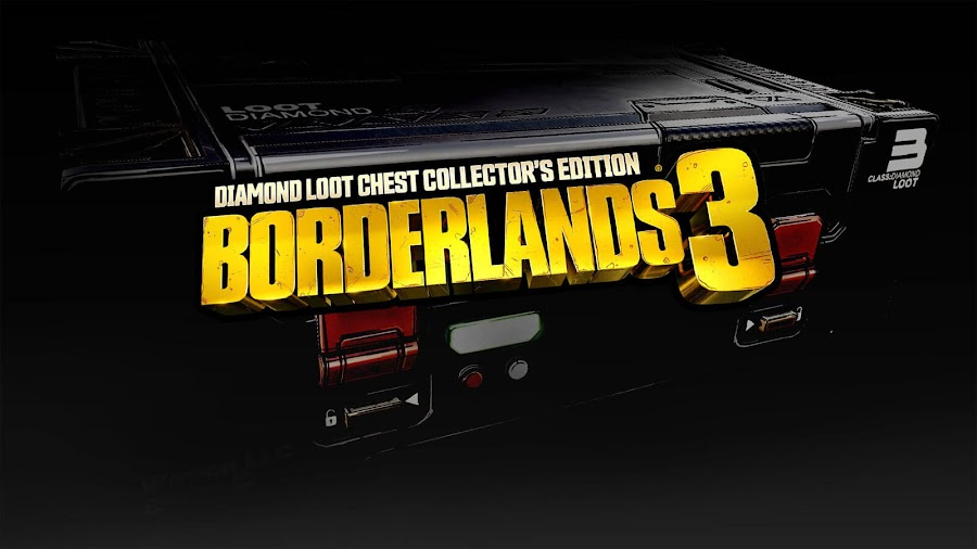 borderlands 3 diamond loot chest collectors edition uk ps4