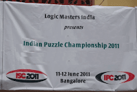Indian Puzzle Championship 2011 Photographs