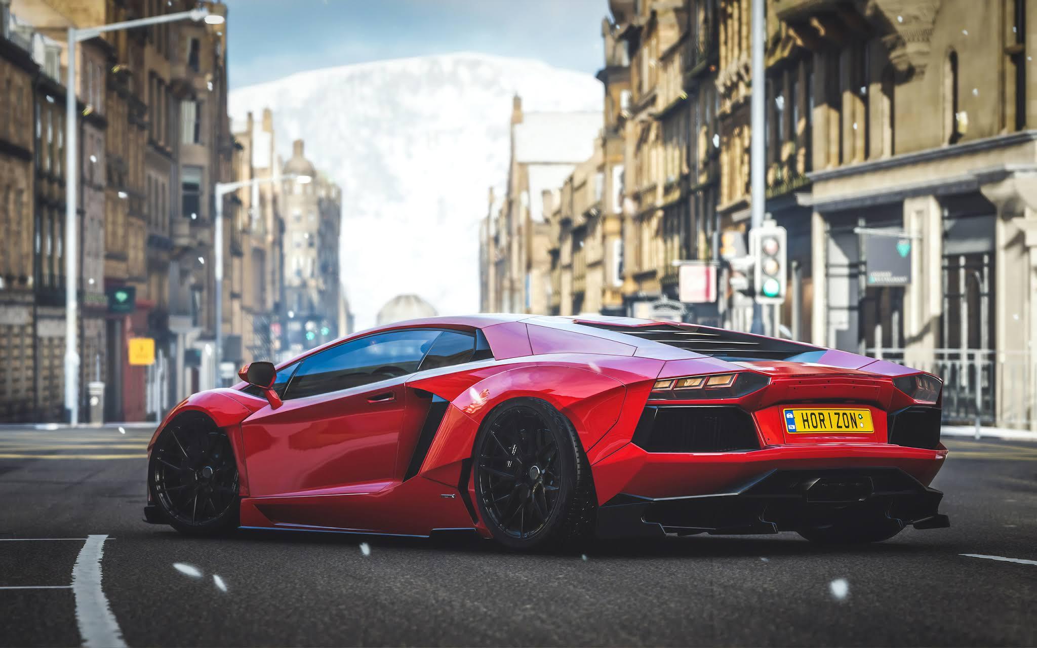 Forza Horizon 4 Lambo