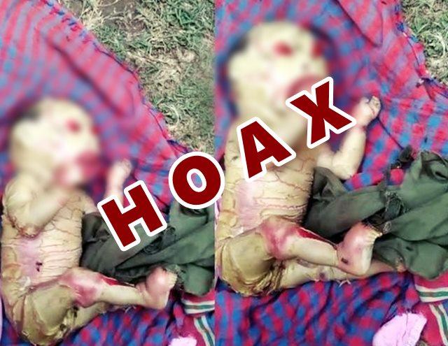Berita hoax bayi di India - FB