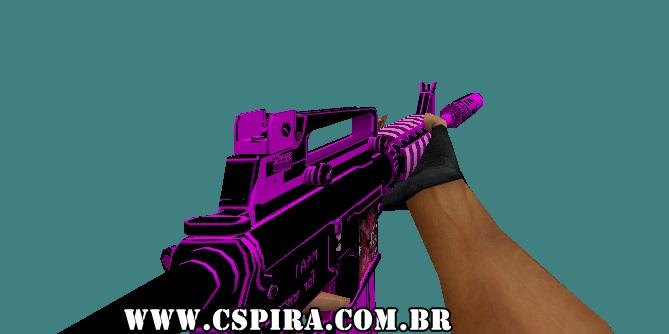 Skin M4A1 Emo - CSPira!
