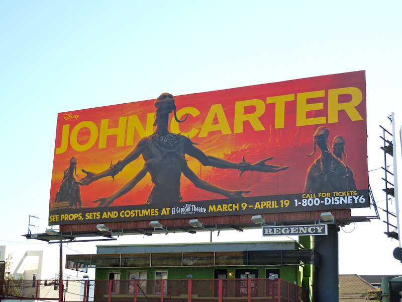 John Carter Martian billboard