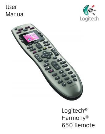 logitech harmony 650 manual download manual pdf online logitech harmony one user manual download logitech harmony one instruction manual