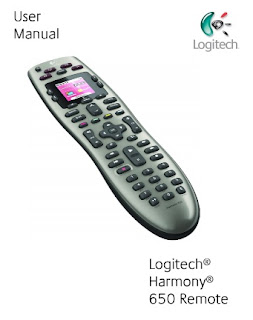 Logitech Harmony 650 Manual
