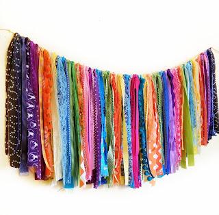 refabulous custom handmade boho banner, garland