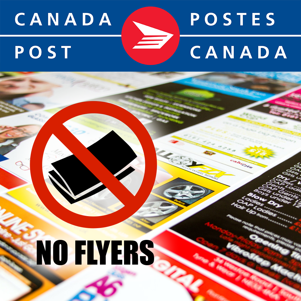 0ecef1ae6d7da Do you want a cleaner mailbox? Canada Post complies with NO FLYER ...