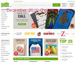 free CafePress coupons december 2016