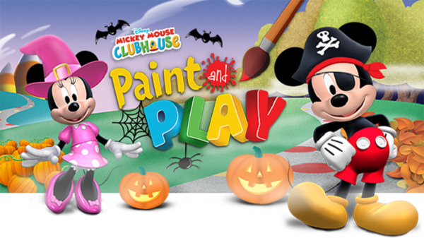 Mickey Mouse Clubhouse Paint And Play App Receives Halloween Makeover Biogamer Girl
