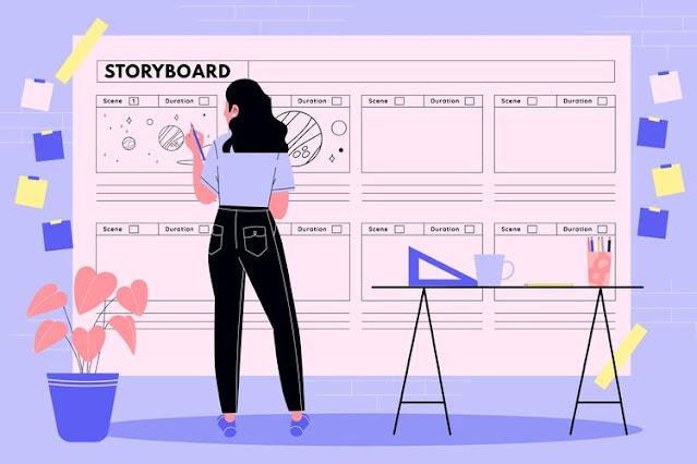 Cara Membuat Storyboard Company Profile