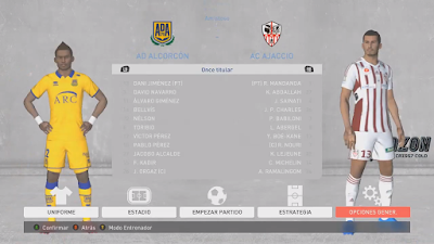 PES 2017 Graphic Menu Azon Theme FIFA 20 Style by Criss7