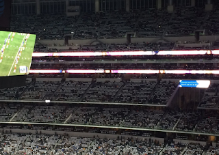 NFL HELL: Thousands of Empty Seats Plague Redskins vs. Cowboys Kickoff (PHOTOS)