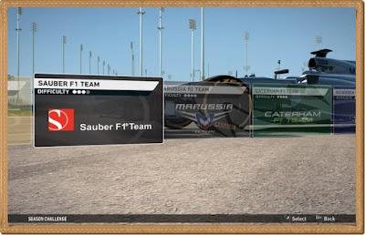 F1 2014 Games Screenshots