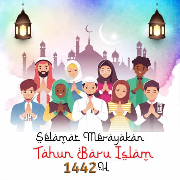 ucapan tahun baru islam 1442