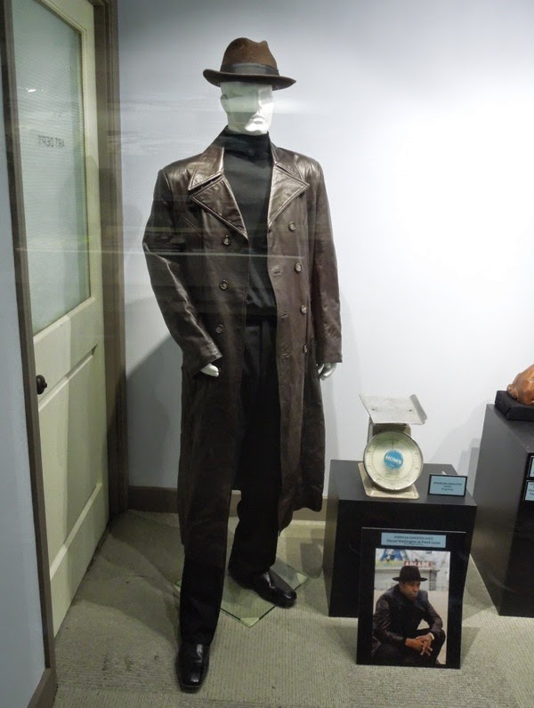 American Gangster movie costume prop exhibit