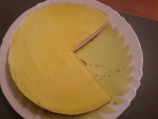 tarta de limón con gelatina