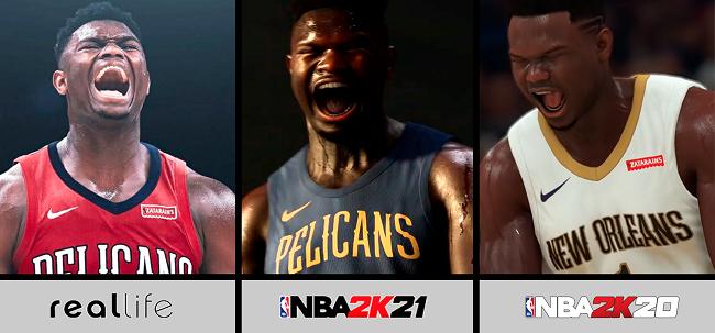 Differences in NBA 2K21 vs NBA 2K20