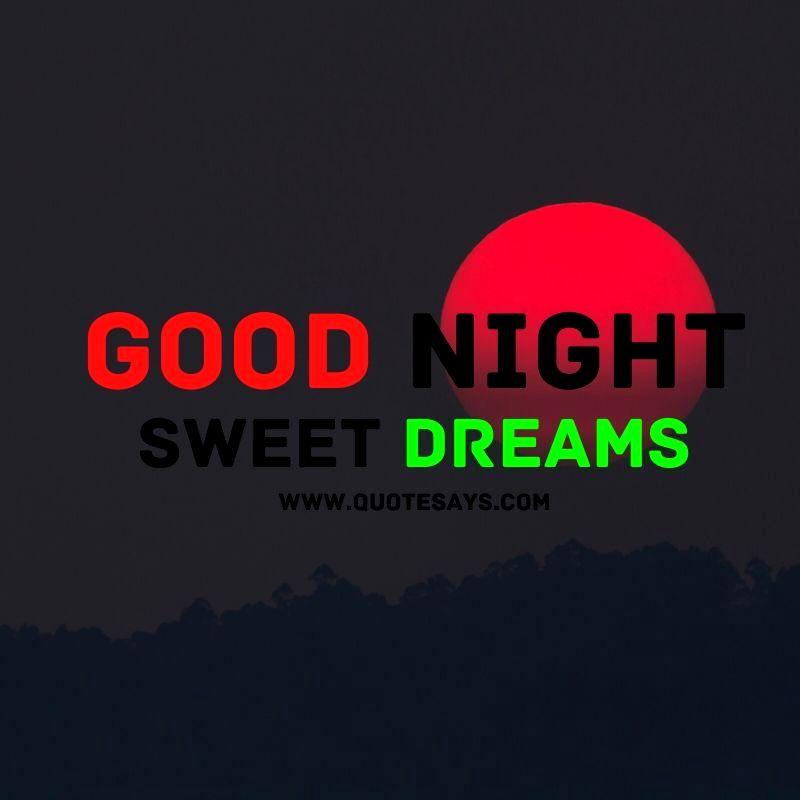 Good Night Sun Set