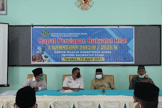 Rapat Persiapan Rukyatul Hilal 1442 H - 2021 M
