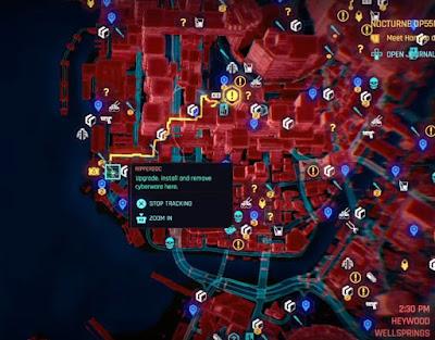 Second Heart Location, Map, V for Vendetta, Cyberpunk 2077, Trophy Achievement