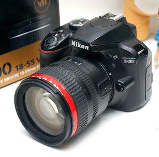 Jual DSLR Nikon D3400 Bekas
