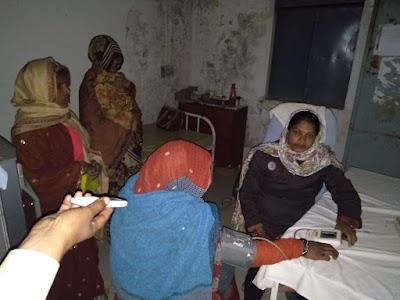 खतोरा में स्वास्थ्य केंद्र की ब्यबस्थाये ठप्प, बिजली नही तो स्वास्थ्य केंद्र नही | Khatora news