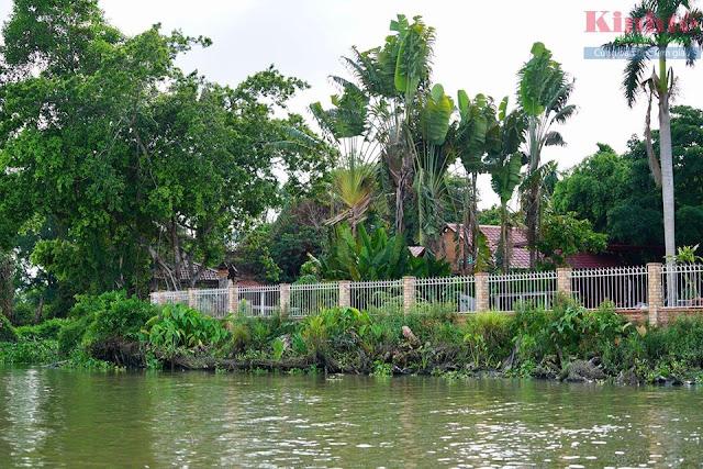 """Bà Hoa xây dựng công trình """"khủng"""" trái phép, vi phạm an toàn hành lang sông Sài Gòn?"""