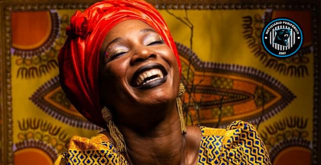 Fanta Konatê cantora e bailarina da Guiné faz show em Ribeirão Preto