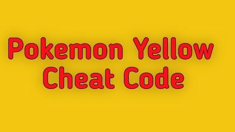 Pokemon Yellow Cheat Codes - Gameshark Codes for Game Boy