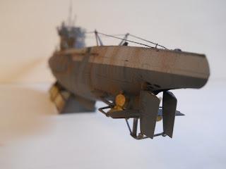 stern of a submarine