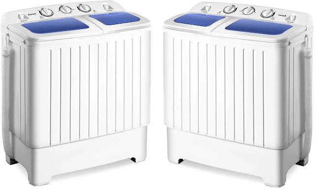 1- Giantex Portable Compact Washing Machine