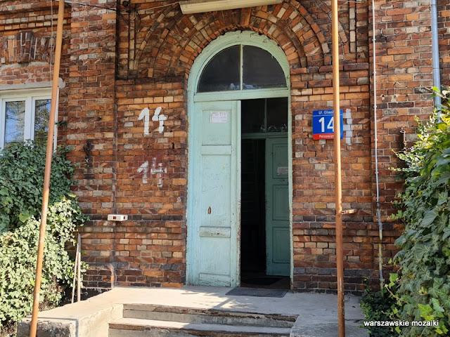 Targówek ulice Targówka Bródno kolej czerwona cegła kolejowe przedwojenne XIX wiek architektura architecture