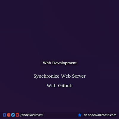 Synchronize Web Server With Github