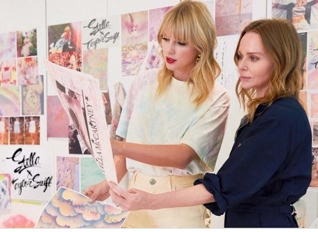 Taylor Swift and Stella McCartney design collaboration for Lover