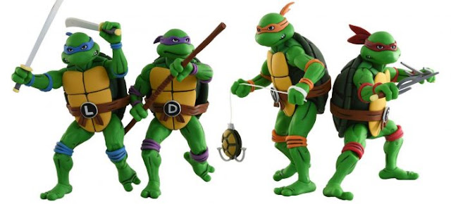 Turtles ninja 15in1 Portable Abandonteca Collection