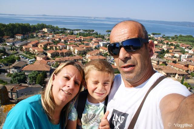 Noi di ViaggiamoHG durante la vacanza a Bolsena