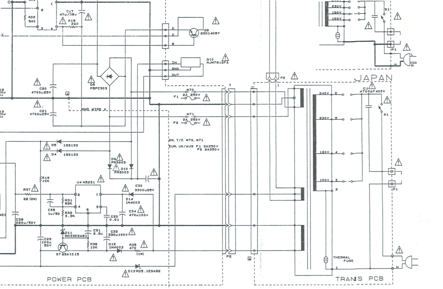 Doz Blog August 2018 Pickit 3 Circuit Diagram A Quick Look At The Shows Theres Thermal Fuse In Primary I May Be Able To Pick It Apart And Replace But Prove