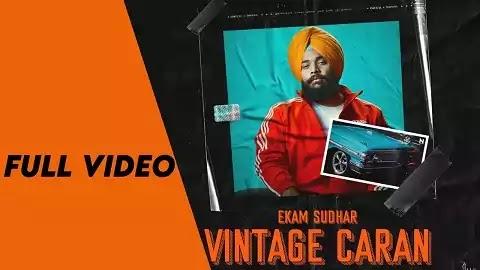 Vintage Caran Lyrics in Punjabi Font | Ekam Sudhar