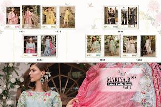 Shree Fab mariya B lawn Collection vol 2 Nx Pakistani Suits