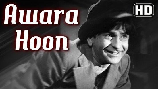 Awara Hoon Lyrics Raj Kapoor | Mukesh