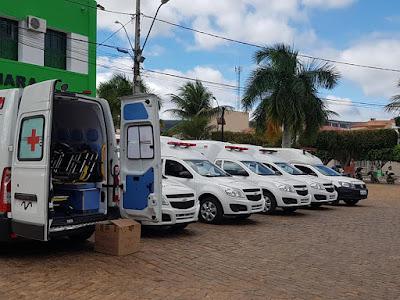 Ibitiara/BA:  Prefeitura adquire cinco novas ambulâncias através de recursos próprios