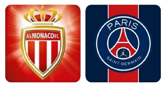 فريقى باريس سان جيرمان وموناكو