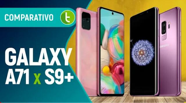 GALAXY A71 VS S9 PLUS
