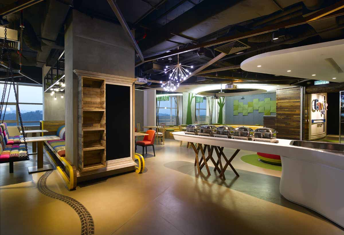 Google malaysia office sentral kl for Office design malaysia